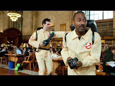 Who You Gonna Call? who you gonna call?ghostbusters