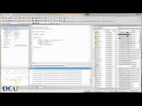 AVR Programming - AVR Studio Tutorial Introduction avr studio 4 видео как работать в avr studio 4