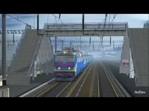 TRS Trainz Railroad Simulator 2010 CHS8-001 (ЧС8-001) trainz simulator 2012 чс8 с клубом и саутом - Видеожурнал TurFamel.ru